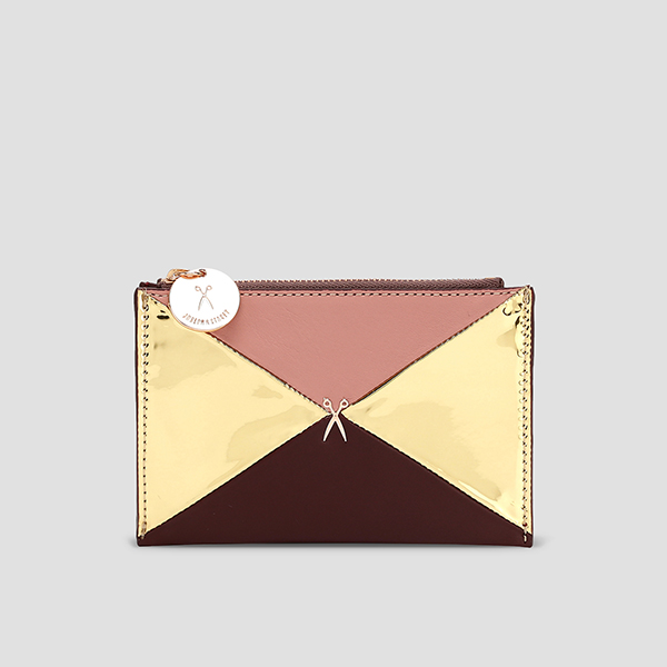 Amante Clutch S Mirror Gold