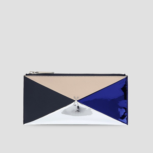 Amante Multicard Wallet Long Dark Navy