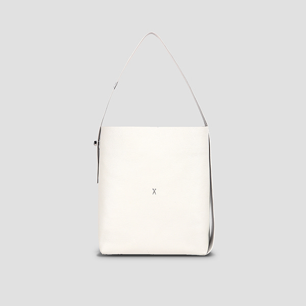 Joseph Shopper L Mirror Mix Whisper White(Silver)
