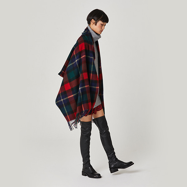 Lambs Wool Muffler Check
