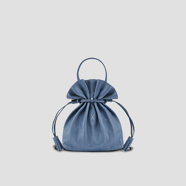 Lucky Pleats Crossbag British Blue