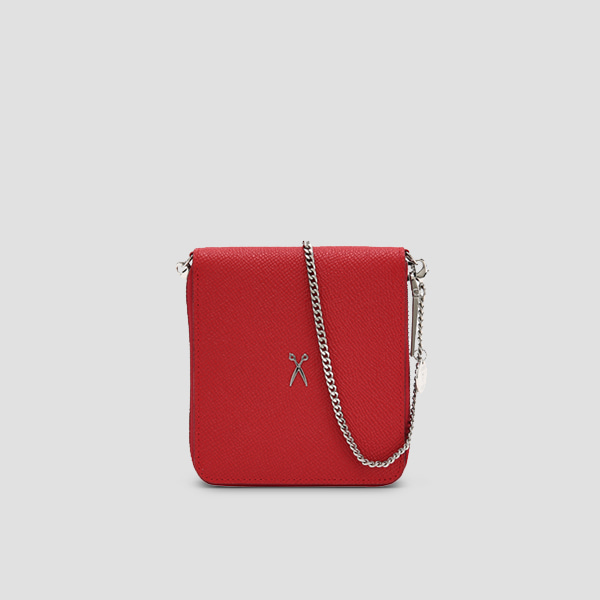 Easypass OZ Wallet Bolt With Chain Barbados Red