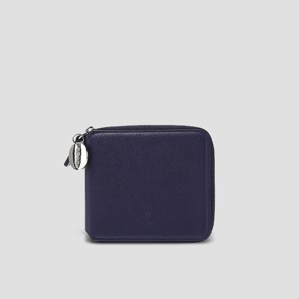 ※Lucky+※OZ Wallet Half Posy Navy