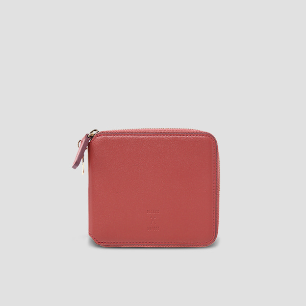 ※Lucky+※OZ Wallet Half Mineral Red