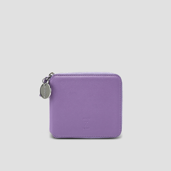 ※Lucky+※OZ Wallet Half Aster Purple