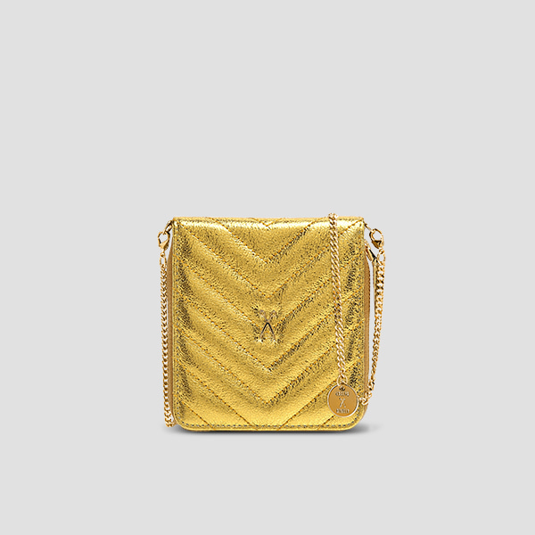 [11/20 예약배송]Easypass OZ Wallet Bolt Eve Edition24k Gold(+Chain Strap)
