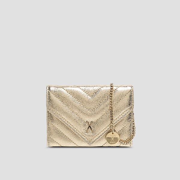 [11/20 예약배송]Easypass Amante Card Wallet Eve Edition14k Gold(+Chain Strap)