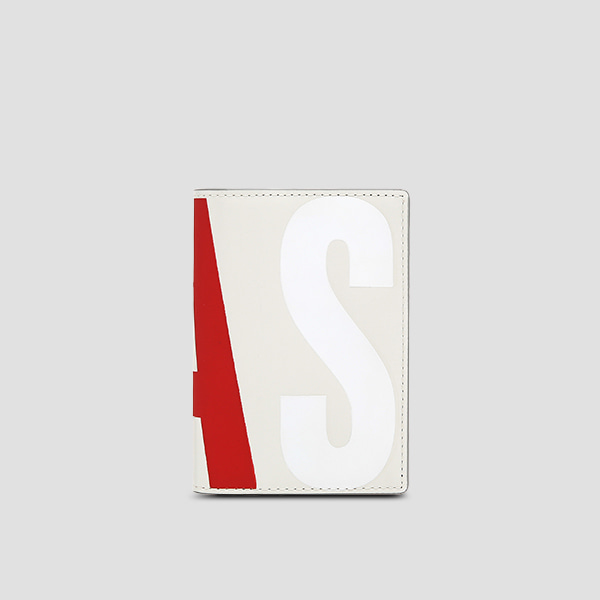 [11/20 예약배송]Easypass William Logo Card Wallet Lily Bone