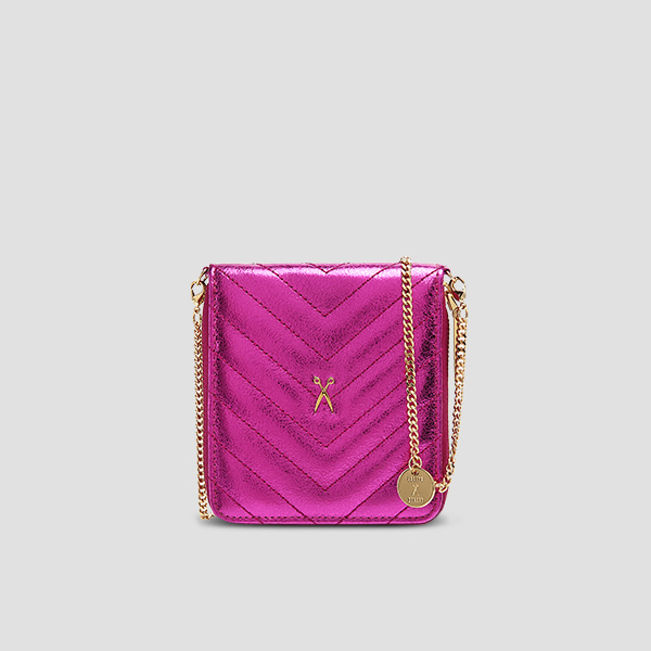 [11/20 예약배송]Easypass OZ Wallet Bolt Eve EditionBubble Pink(+Chain Strap)