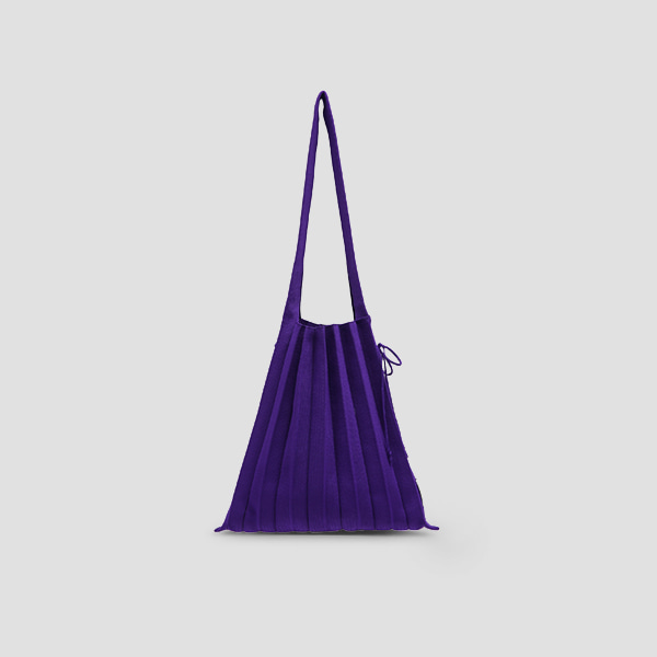 [김고은/남보라 착용]Lucky Pleats Knit M Ultra Violet