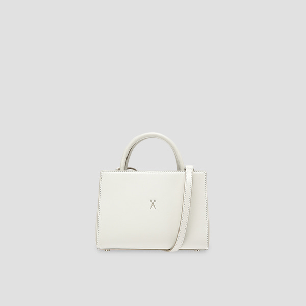 Lucky Pleats Tote S Lily Bone