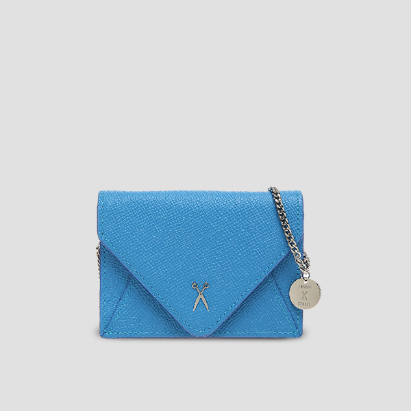 Easypass Amante Card Wallet with Chain Hockney Blue