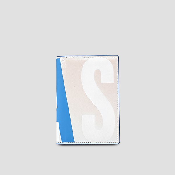 Easypass William Logo Card Wallet Pearl White