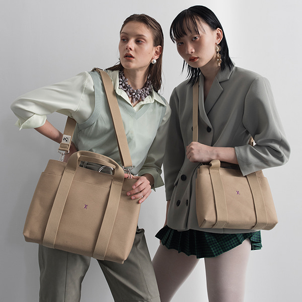 [모든 컬러 모아보기] Stacey Daytrip Tote Canvas