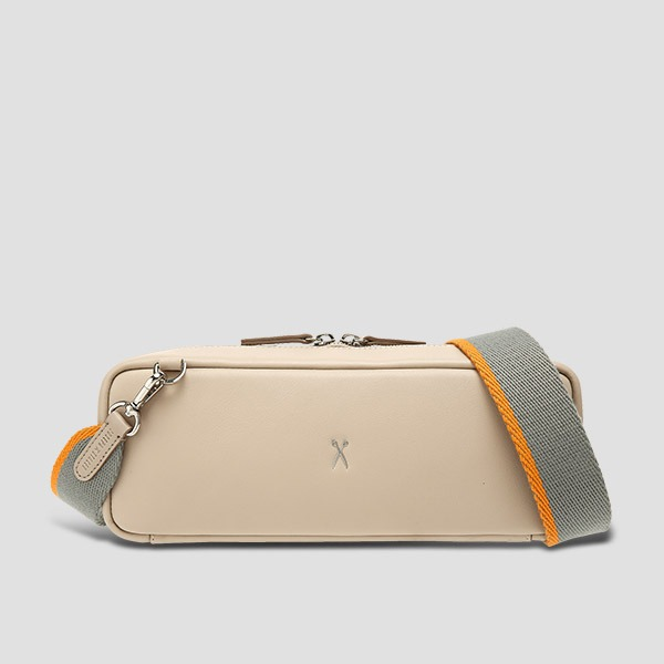 OZ V Square Bag Ecru Beige