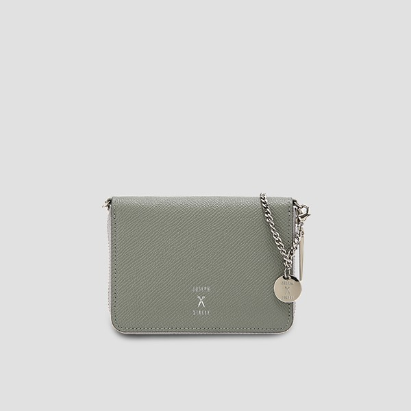 Easypass OZ Card Wallet With Chain Gravity Grey