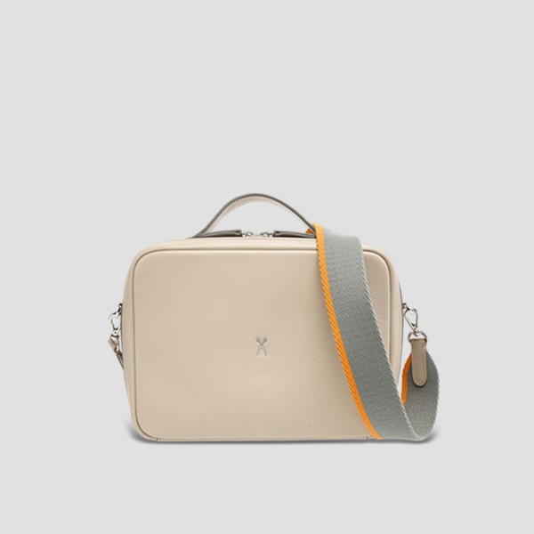 OZ Square Bag Ecru Beige