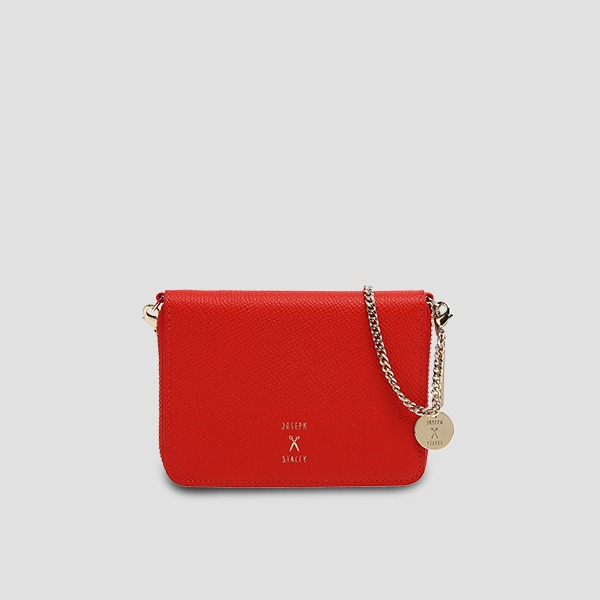 Easypass OZ Card Wallet With Chain Chroma Red