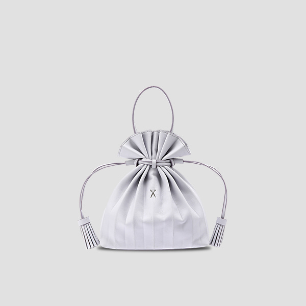Lucky Pleats Crossbag Light Purple