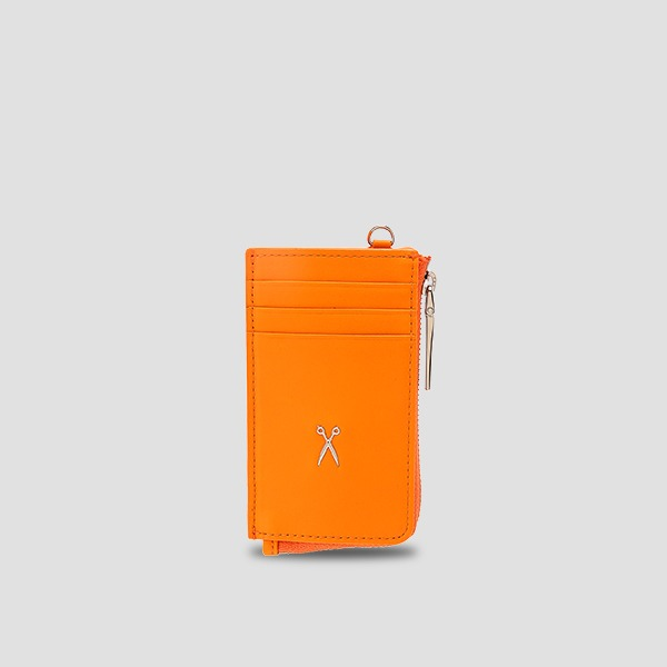 Easypass OZ Vertical Card Wallet Electric Orange