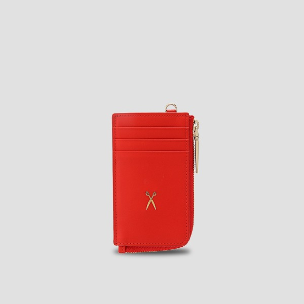 Easypass OZ Vertical Card Wallet Chroma Red
