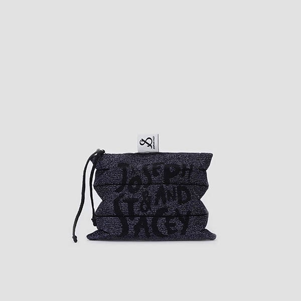 [3/5 예약배송]Lucky Pleats Pouch Graffiti S Starry Night
