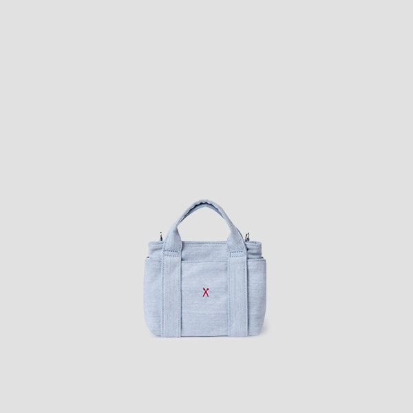 Stacey Daytrip Tote Canvas Mini Light Denim
