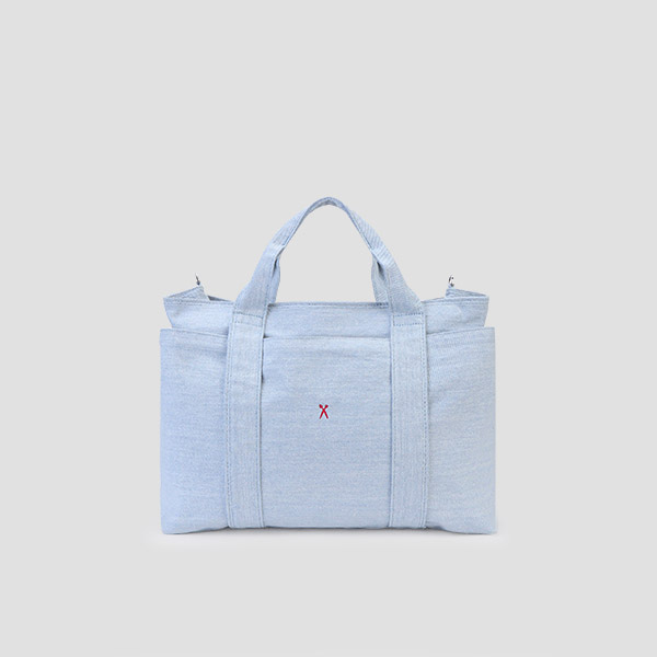 Stacey Daytrip Tote Canvas M Light Denim