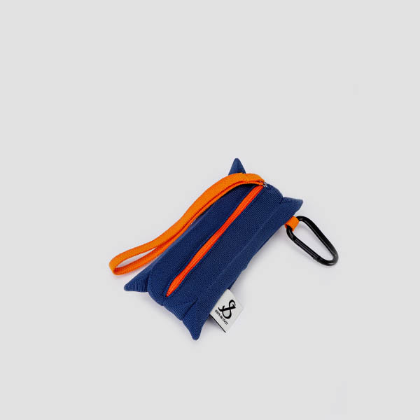 [3/2 예약배송]Lucky Pleats Pouch Slim Mid Blue