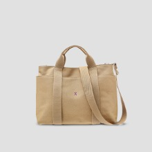 ※BESPOKE(자수)가능※Stacey Daytrip Tote Canvas M Beige