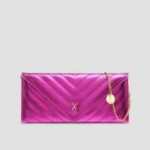 Easypass Amante Flat Wallet Long Eve EditionBubble Pink(+Chain Strap)